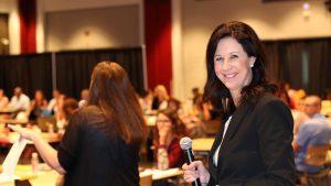 Field Program Director Allison Curington at 2017 MSW Orientation