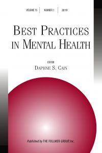 Journal cover for Best Practices in Mental Health