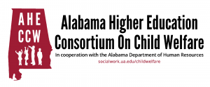 Logo for Alabama Higher Education Consortium on Child Welfare