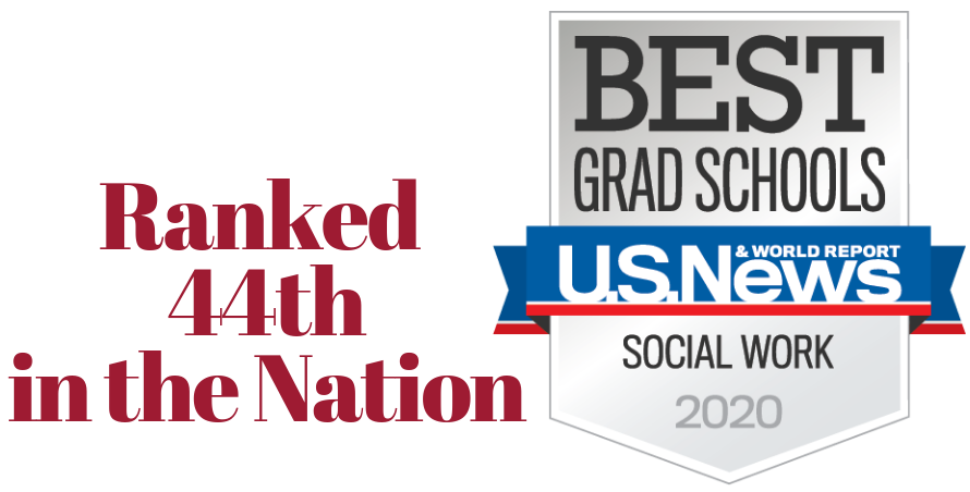 Ranked 44th in the Nation - Best Grad Schools 2020 US News & World Report